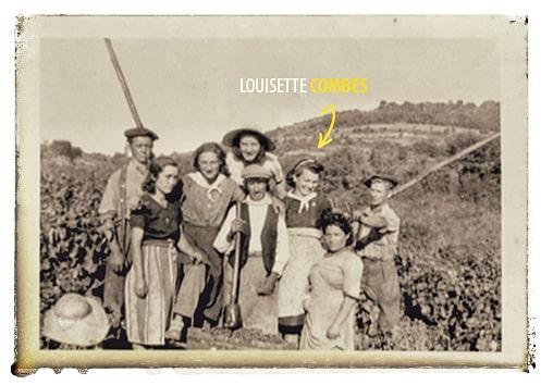 En 1941, Louisette Combes, ma grand-mère maternelle.