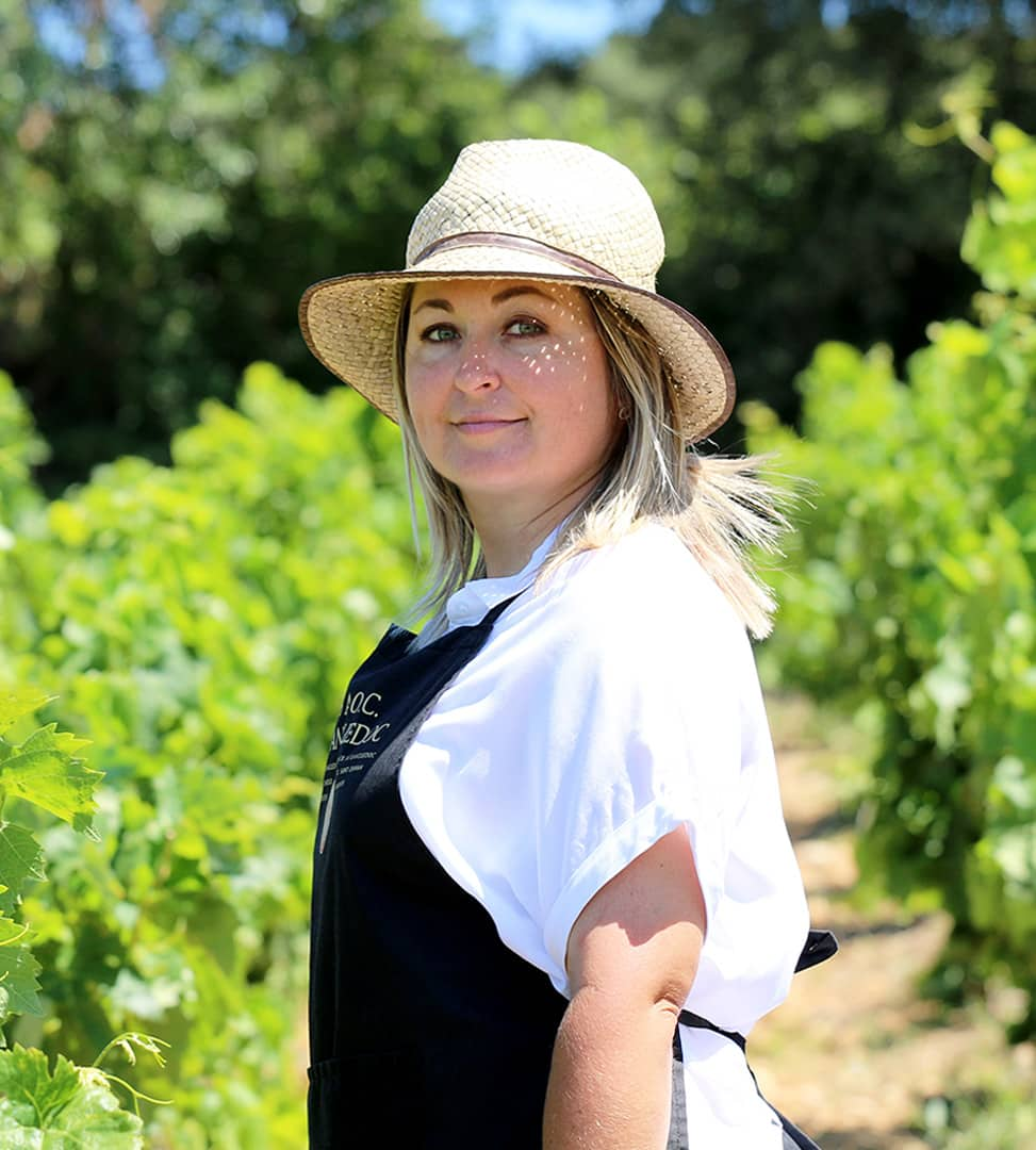 Hélène Jougla, une femme viticultrice passionnée