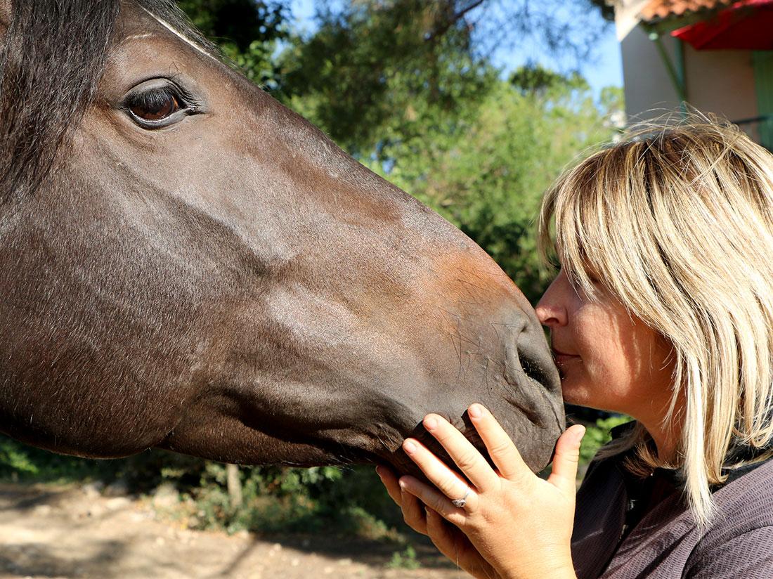 L'amour des chevaux, une passion de longue date.