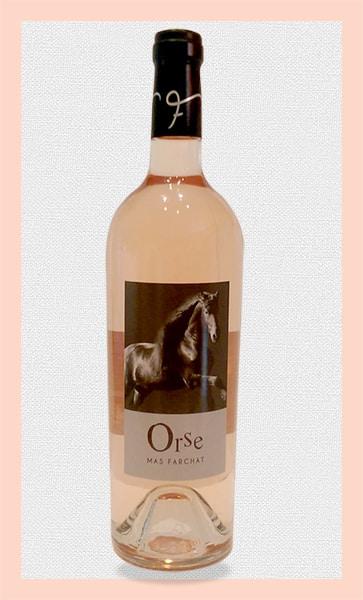 Nouvelle cuvée rosé ORSE au Mas Farchat